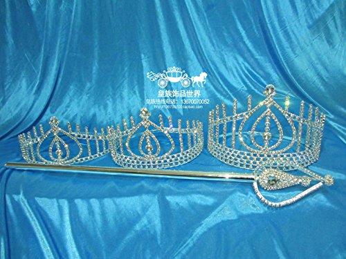 Quantity 1x Custom_Imperial_Miss_Hong_Kong_ pageant Crown Tiara Party Wedding Headband Women Bridal Princess Birthday Girl Gift _Champions_League,_second_runner-up_cane_cane_ Headdress _afterpresentat