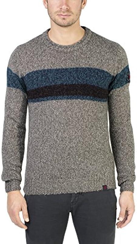 Timezone męski sweter z technologii Lock Crew: Odzież