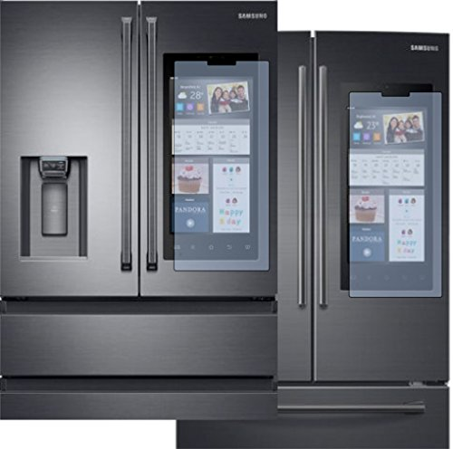 AD1000 Screen Defender/Protector for Samsung 3 or 4 door French style fridge w/HUB Display- Clear Model Specific, see below