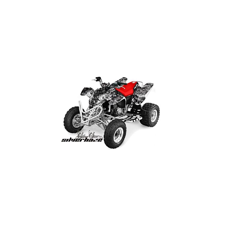 Silver Star AMR Racing Polaris Predator 500 2002 2011 ATV Quad Graphic Kit