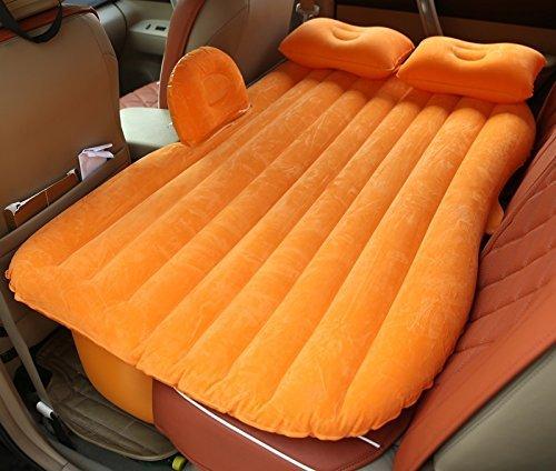F  Giow Camping en Plein air lit de Voiture Plus épais Voiture Matelas Gonflable Voiture Choc lit Voyage arrière arrière Voiture Coussin d'air de Voiture SUV GM