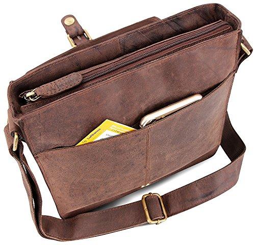 brown Nutmeg Bag 4250918922093 Leabags Shoulder Nutmeg Havanna FBIwx7qaU