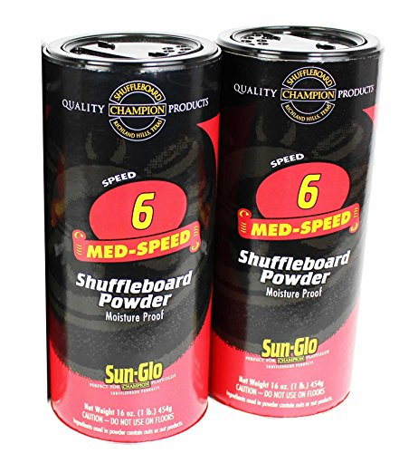 Sun-Glo #6 Shuffleboard Powder Wax (16 oz.)(Pack of 2) by Sun-Glo