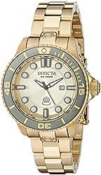 Invicta Women's 19822 Pro Diver Analog Display Swiss Quartz Gold Watch