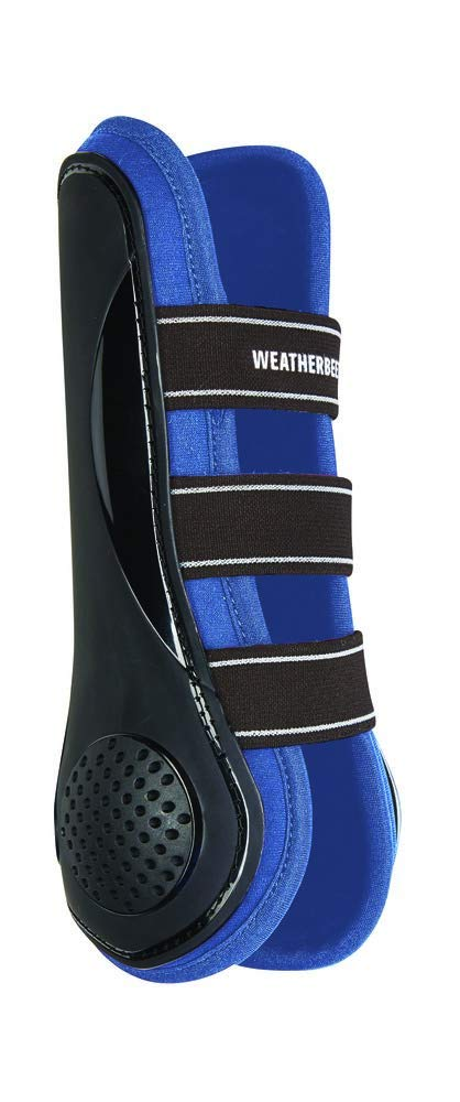 WEATHERBEETA PRO AIR Open Front Boots Black bluee Warmblood Horse Rug