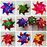 20pcs Classic Windmills 28x16cm Kids Garden Party Toy Festival(send from uk)