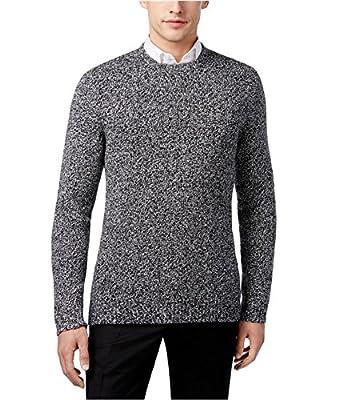 Calvin Klein Mens Wool Marled Pullover Sweater