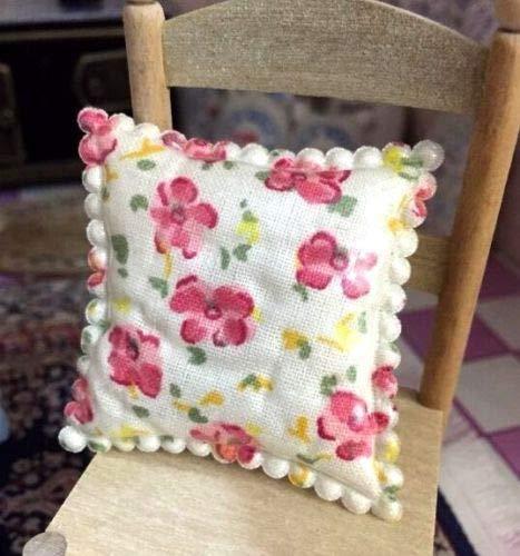 Agordo 1:12 Dollhouse Miniature Flower Cushion for Sofa Arm Chair Living Dining Room в« (Arm Chair Capri)