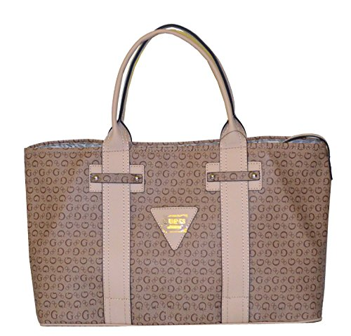 Guess handbag, faux leather tote