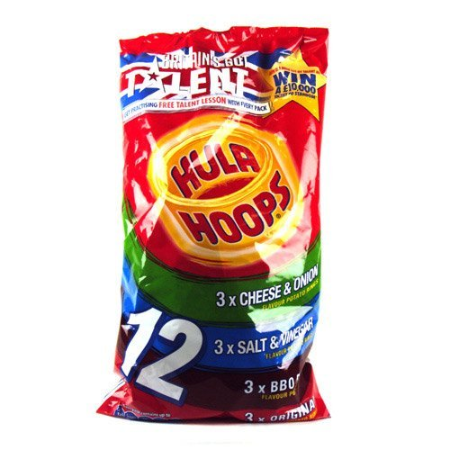 KP Hula Hoops Classic Variety 12 Pack