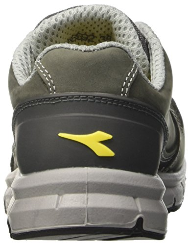 Diadora Run Low S3, Chaussures de travail mixte adulte, Gris (Grigio Castello), 37 EU