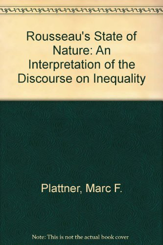 Rousseau's State of Nature: An Interpretation of the Discourse on Inequality