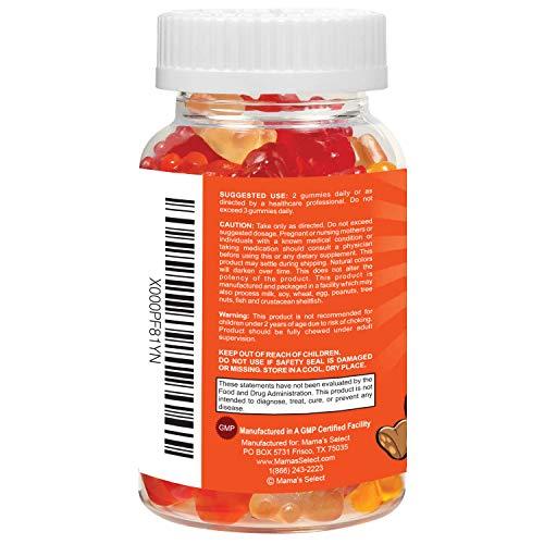gummibarchen fur kinder umfassende vitamin und mineralienunterstutzung fur kinder mother s select li l gummies enthalten vitamine a c d e b und