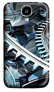 Mechanism Custom Samsung Galaxy I9500/Samsung Galaxy S4 Case Cover Polycarbonate 3D