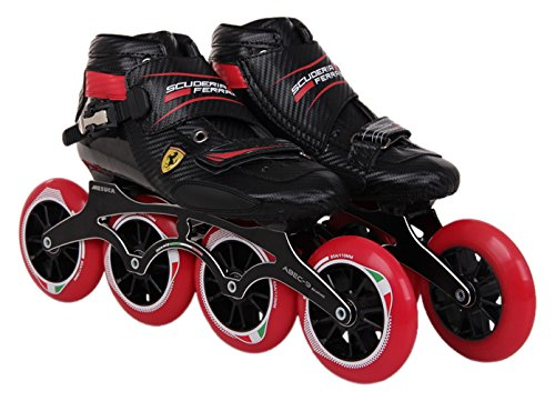 Ferrari Speed Skate, Black, Size 40