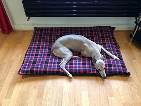 kosipet® barato Presupuesto mediana forro polar rojo para cubierta para cama para perro, camas