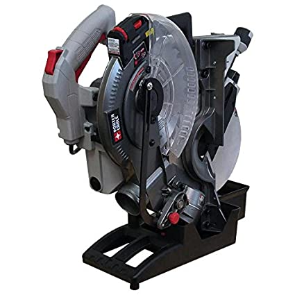 Porter cable 10 in 15 amp single bevel laser folding compound miter porter cable 10 in 15 amp single bevel laser folding compound miter saw greentooth Choice Image