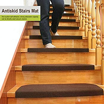 Stair Treads Collection Self Stick Non Slip Resistant