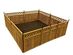 Terra Garden Fence GF-7, Protect & Beautify, 32 Feet of Fencing Included, Animal Barrier