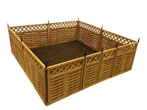 Terra Garden Fence GF-7, Protect & Beautify, 32 Feet of Fencing Included, Animal Barrier by Terra