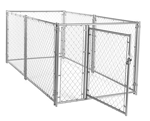 Lucky Dog 6'H x 5'W x 10'L  Modular Chain Link Kennel kit