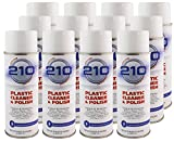 Sumner Laboratories 23304C-12PK 210 Plastic Cleaner/Polish Aerosol - 168 fl. oz., 12 Pack