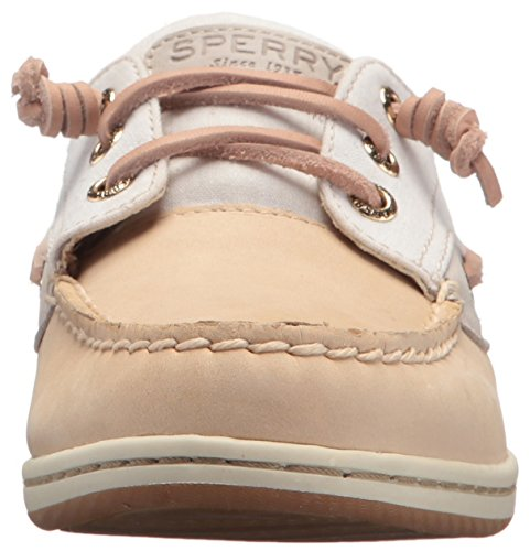 Shoe Us Songfish sider 6 Women's Medium Sperry Top Chambray Linen XRS11q