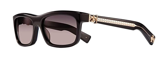 fbc81f866068 Amazon.com  Chrome Hearts - My Dixadryll - Sunglasses (Black-Gold ...