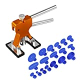 XMT-MOTO Paintless Car Body Hail Glue Puller Tap Kit Tabs Gun Dent Repair Hail Removal