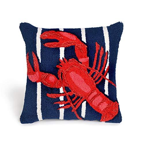 Liora Manne Whimsy Ocean Dweller Indoor/Outdoor Pillow, 18