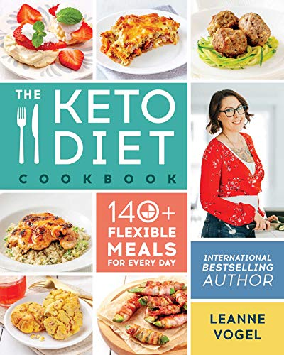 Book cover from The Keto Diet Cookbook by Leanne Vogel