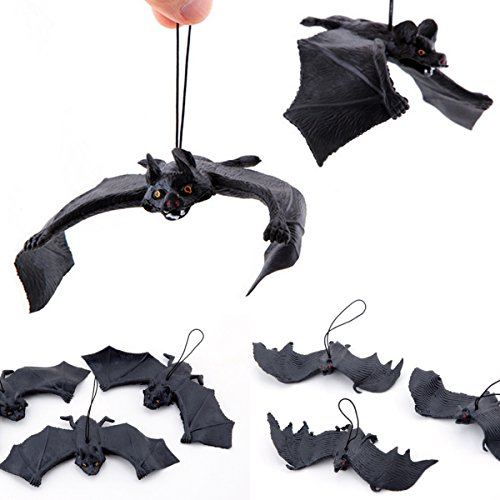 Halloween Scary Bat Halloween Party Hanging Wall Decoration (Halloween Forest Scene Setter)