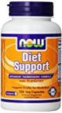 Now Foods Diet Support, Veg-Capsules, 120-Count