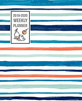 2019-2020 Weekly Planner: Two Year - Daily Weekly Monthly ...