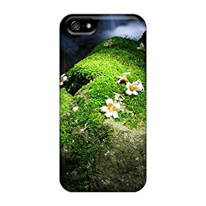Mwaerke Premium Protective Hard Case For Iphone 5/5s- Nice Design - Wildflowers
