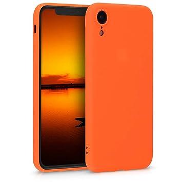 coque iphone xr orange