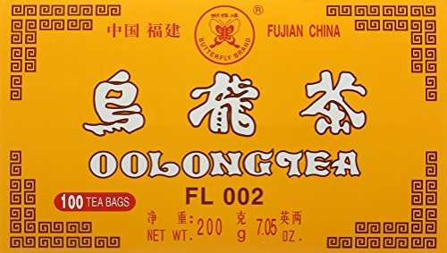 Butterfly Brand Oolong Tea 100 Bags - Export Chinese Old