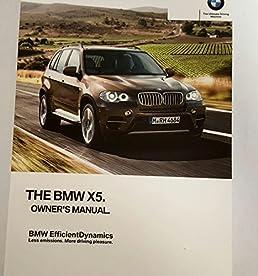 2012 bmw x5 35i 50i 35d xdrive x5m x6 35i 50i xdrive x6m oem owner s rh amazon com 2015 BMW X5 2000 BMW X5 Problems