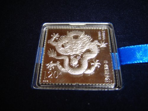 012 China COLLECTORS A.g.999 - 1oz SILVER Stamp REAL Silver Certified as pictured ()