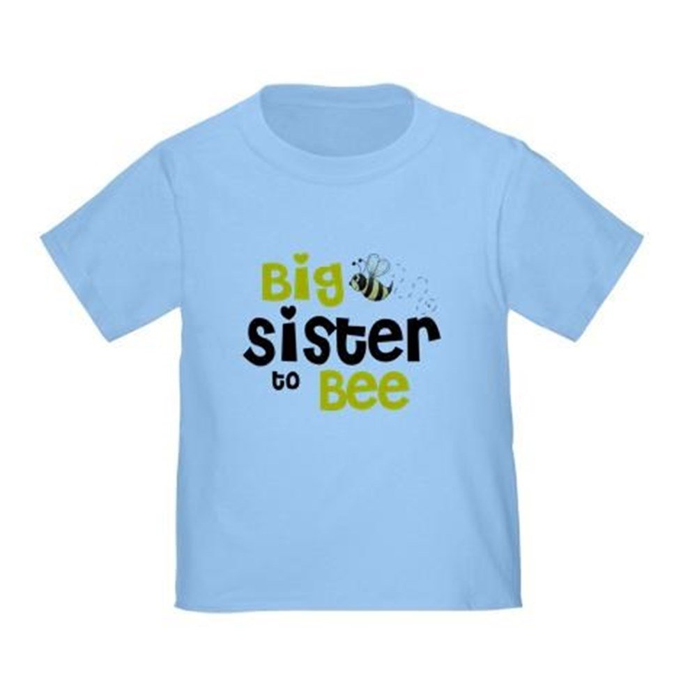 CafePress - Big Sister To Bee - Cute Toddler T-Shirt, 100% Cotton