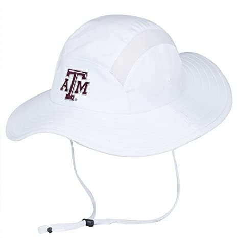 721c6d649e7 Image Unavailable. Image not available for. Color  Texas A M Aggies Adidas  Sideline UV Protective Climalite Safari Hat - White