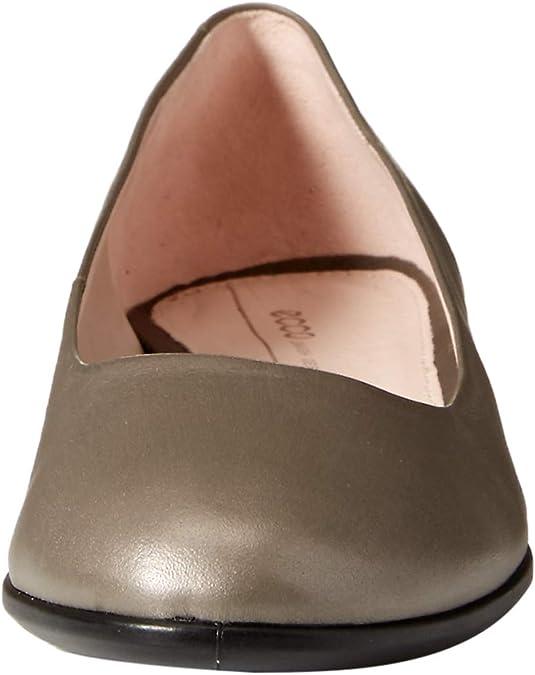 STONE METALLIC 51567 Closed Toe Ballet Flats Women/'s Silver ECCO ANINE 5.5 UK  EU