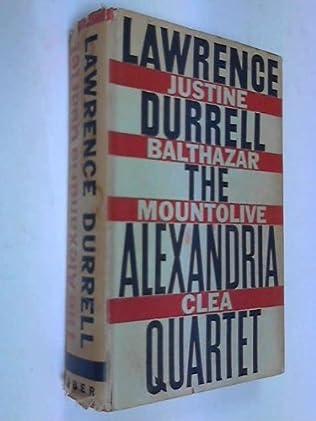 book cover of The Alexandria Quartet