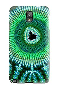 Tpu BradyFord Shockproof Scratcheproof Fractal Hard Case Cover For Galaxy Note 3