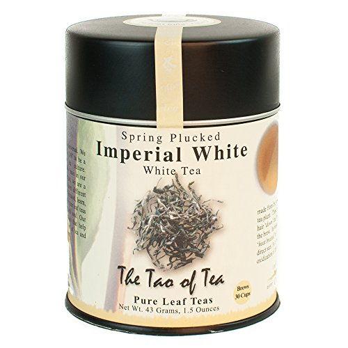 The Tao of Tea, Imperial White Tea, Loose Leaf, 1.5 Ounce Tins