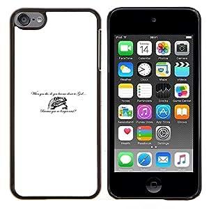 EJOOY---Cubierta de la caja de protección para la piel dura ** Apple iPod Touch 6 6th Touch6 ** --Dinosaurio