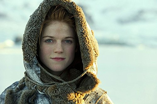 Actress Brown Hair Scottish Game Of Thrones Rose Leslie Smile Green Eyes Tv Movie Film Poster Fabric Silk Poster Print 32517 (Actresses With Dark Hair And Green Eyes)