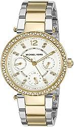 Michael Kors Women's Parker Two-Tone Bracelet Watch MK6055