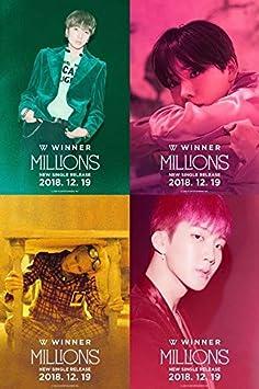 Amazon com: Winner - [Millions] Single Blue Night Ver CD+