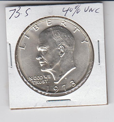 1973 S Eisenhower (IKE) Dollar 40% Silver Unc. Coin $1 Uncirculated